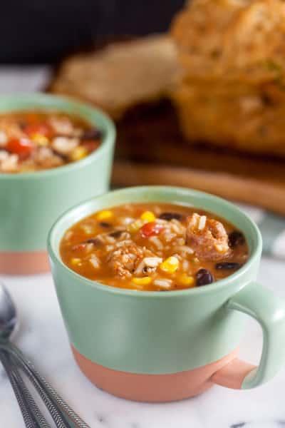 Southwest Chorizo Soup Picture