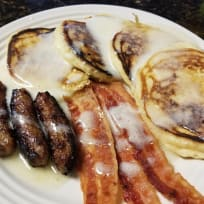 Buttermilk Pancakes and Buttermilk Syrup