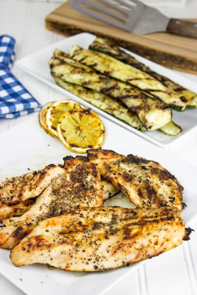 Easy Lemon Grilled Chicken Picture