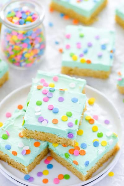 Gluten Free Sugar Cookie Bars Picture