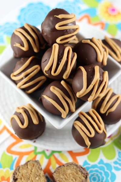 Chocolate Peanut Butter Cake Truffles Pic