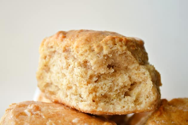 Apple Biscuits with Honey Butter Glaze Pic