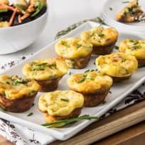 Spinach Artichoke Mini Frittatas Recipe