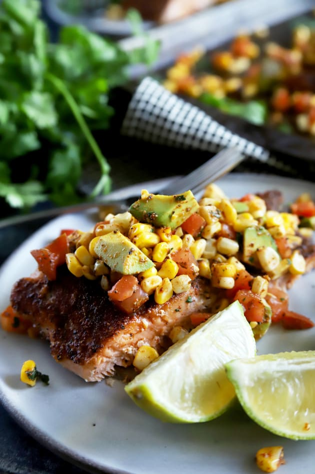 File 3 - Grilled Salmon with Corn Avocado Salsa