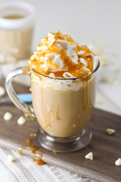 Boozy White Chocolate Milky Way Mocha Picture