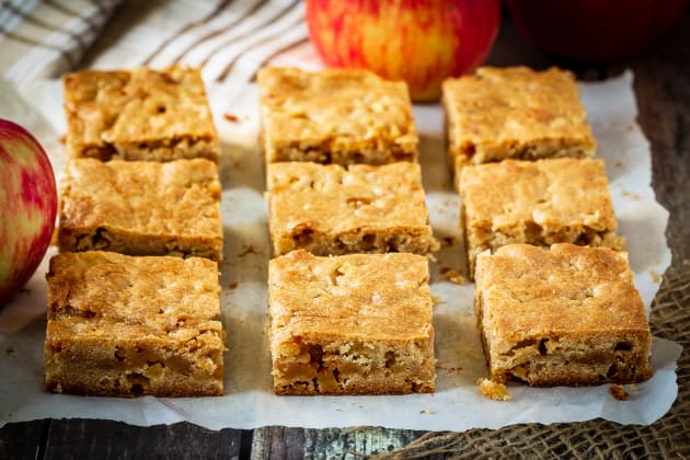 Caramel Apple Blondies Image