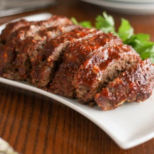 Gluten free slow cooker meatloaf photo
