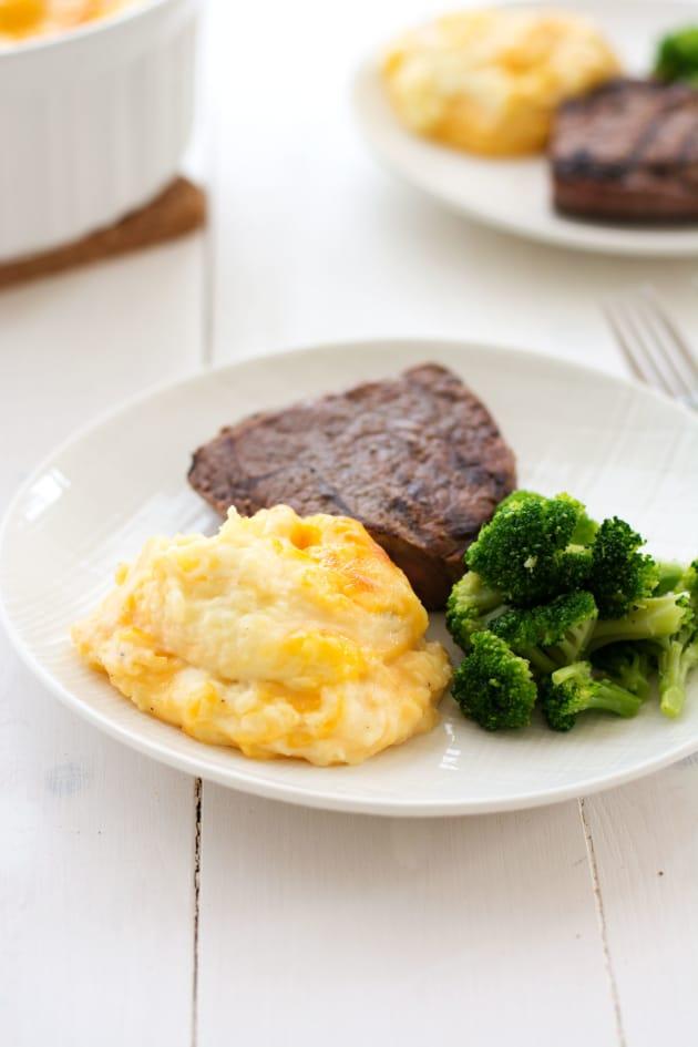 Cheesy Mashed Potato Casserole Pic