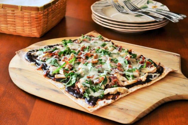 BBQ Chicken Flatbread Photo