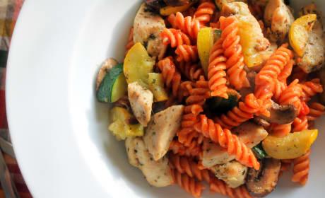 Gluten Free Pasta Primavera Recipe