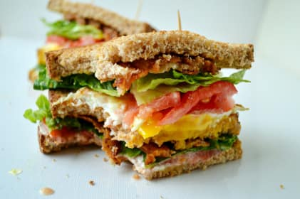 Breakfast BLT Sandwich