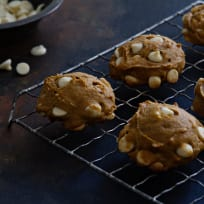 Pumpkin White Chocolate Chip Cookies Recipe