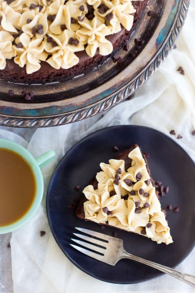 Ultimate Chocolate Peanut Butter Torte Pic