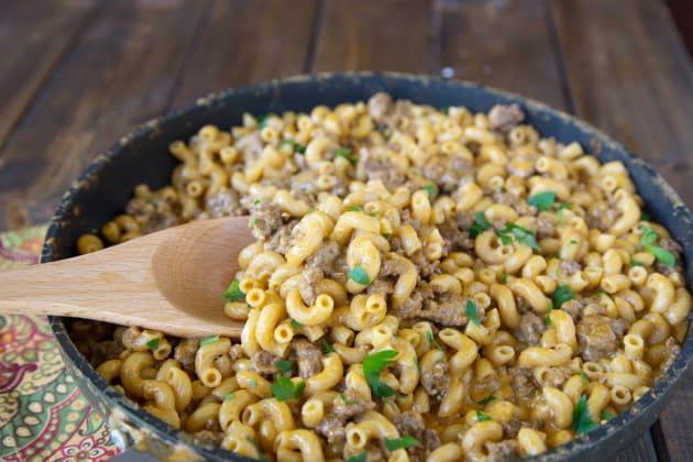 Cheeseburger Macaroni Picture