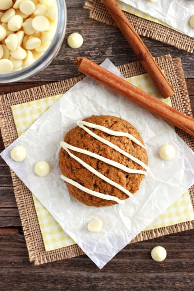 Small Batch Pumpkin Spice Cookies Picture