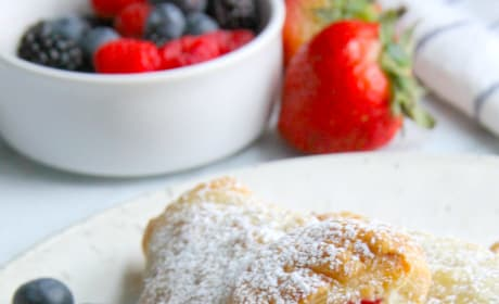 Mixed Berry Turnovers Image