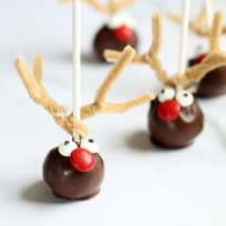 Reindeer Cake Pops Recipe