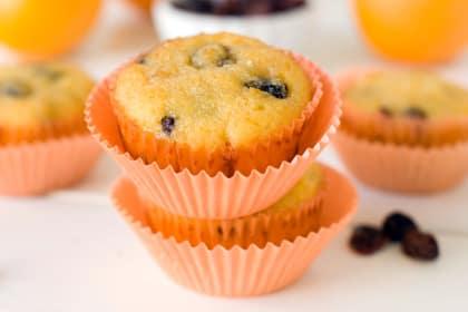 Gluten Free Cranberry Orange Muffins: Bright Cheery Breakfast