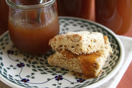 Pear Butter: Sweet and Spicy