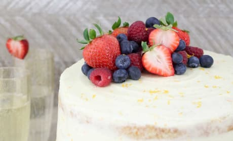 Mimosa Cake Picture