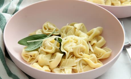 Tortellini with Butter and Sage Recipe