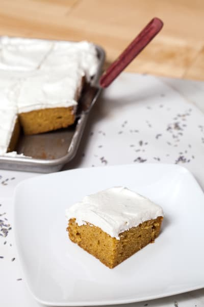 Pumpkin Sheet Cake Picture