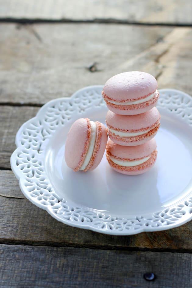 Rose & Lavender Macarons Image