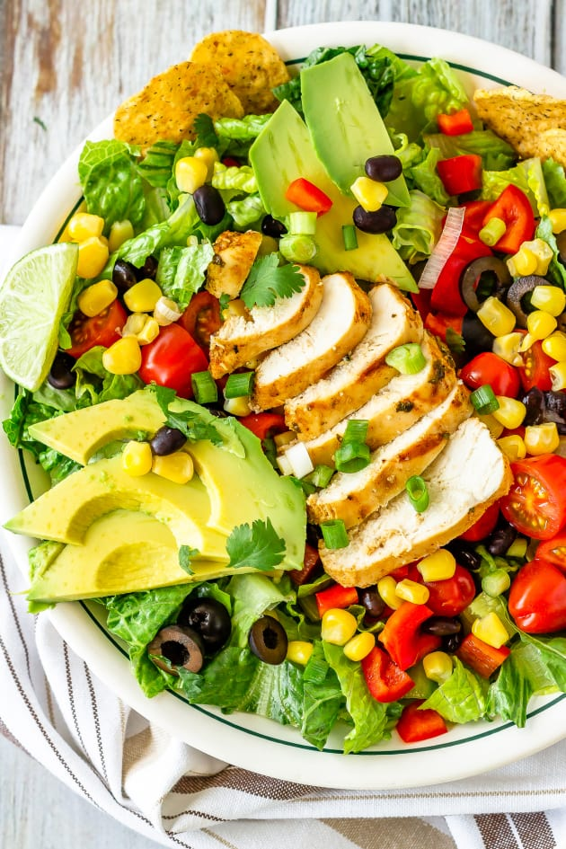 Chicken Taco Salad Pic