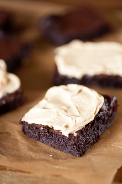 Peanut Butter Frosted Brownies Picture