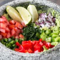Veggie Guacamole Recipe