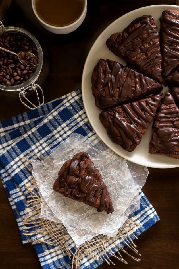 Double Chocolate Scones Picture