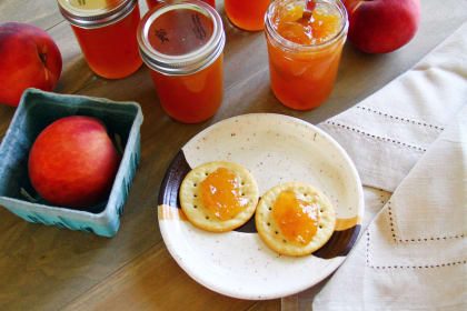 Hot Peach Jam Packs Quite A Punch