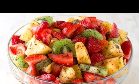 How to Make the Best Fruit Salad with Lemon Poppy Seed Dressing