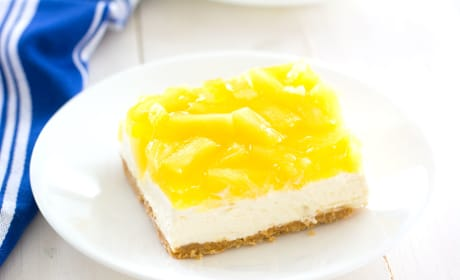 No-Bake Pineapple Cheesecake Bars Recipe