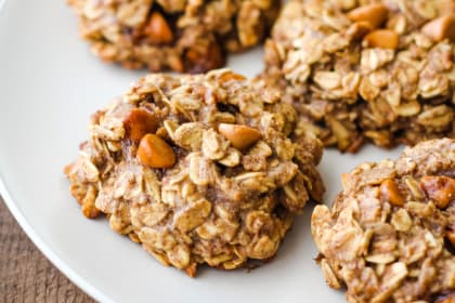 Butterscotch Banana Oatmeal Cookies Recipe