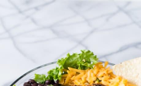 Chicken Taco Salad with Cilantro Ranch Picture