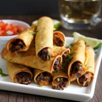 Bean and Cheese Taquitos Recipe
