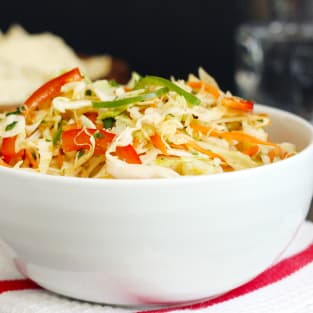 Mexican coleslaw photo