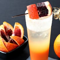 Blood Orange Gin Cooler Recipe
