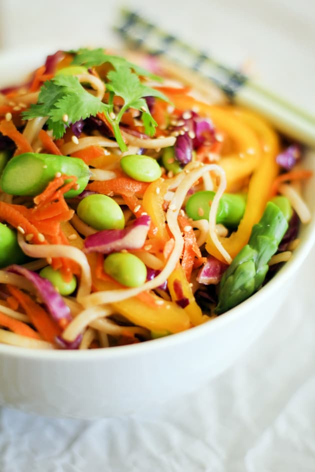 Spring Vegetable Pad Thai Image