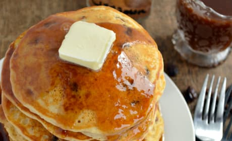 Cinnamon Raisin Bread Pancakes Image