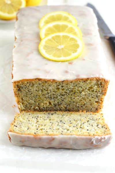 Gluten Free Lemon Poppyseed Bread Picture