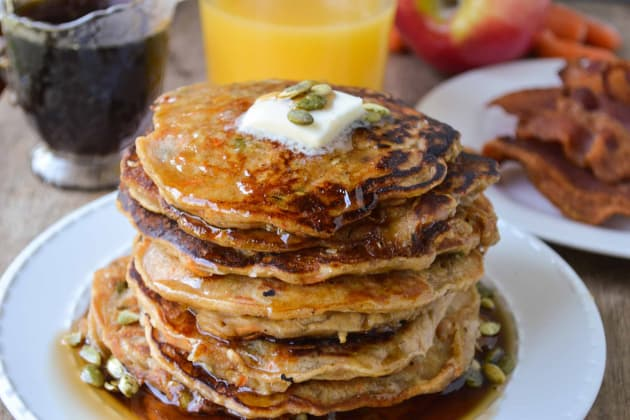 Morning Glory Pancakes Photo