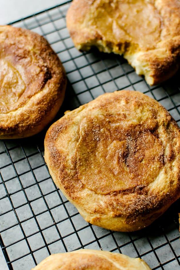 Pumpkin Cream Cheese Brioche Picture