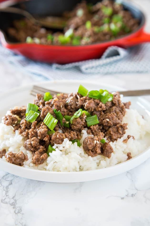 Ground Mongolian Beef Image