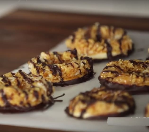 Homemade Girl Scout Samoa Cookies