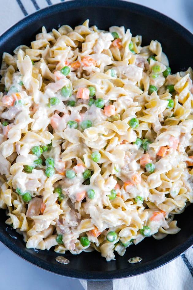 Chicken Pot Pie Noodles Picture