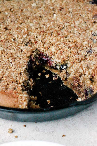 Blueberry Chocolate Chip Skillet Cookie Picture