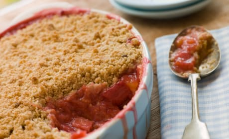 Rhubarb Crumble Photo