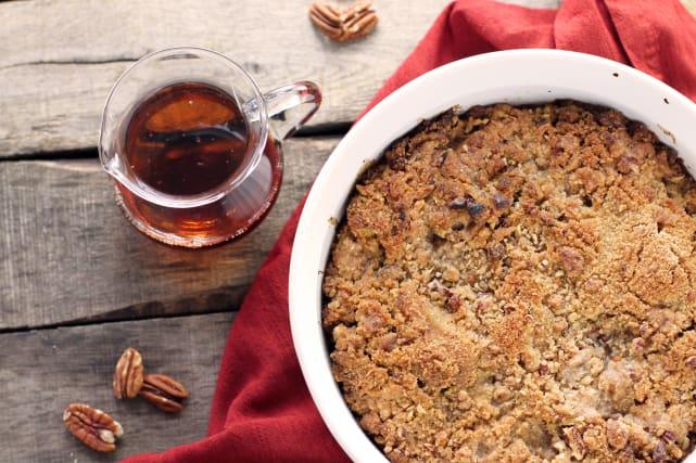 Maple Bread Pudding Recipe